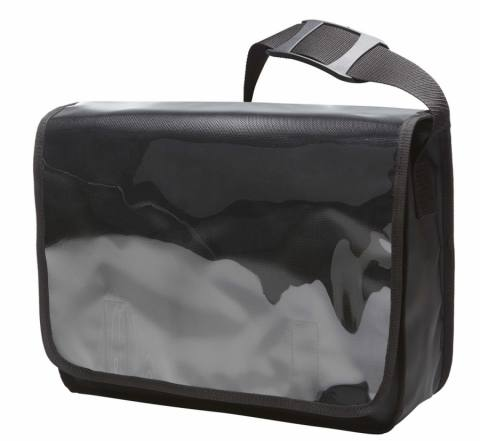 shouder bag DISPLAY black matt 225284