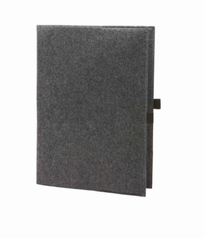 felt conference folder MODUL 1 anthracite 225295