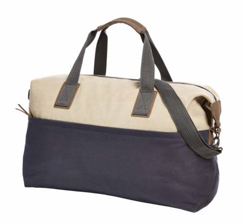 sport/travel bag JOURNEY beige-dark blue 225365