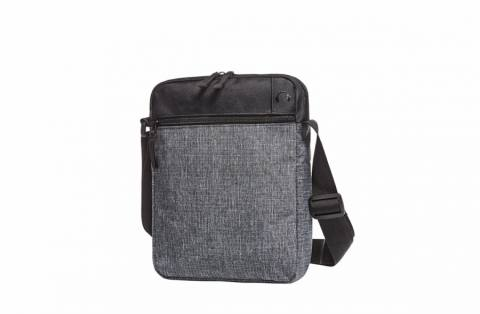 CrossBag ELEGANCE black-grey sprinkle 225372